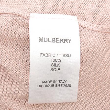 MULBERRY(멀버리) 실크 핑크 컬러 나시 원피스 이미지4 - 고이비토 중고명품