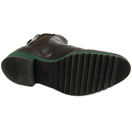 Louis Vuitton(루이비통) B4YQ1PGZ 브라운 카프 레더 스틸 앵클 부츠