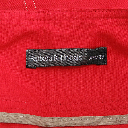 barbara bui Initials(바바라부이) 레드 컬러 스커트 [강남본점]