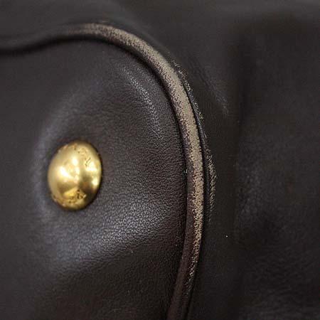 Prada(프라다) BN1902 브라운 레더 금장 로고장식  2WAY