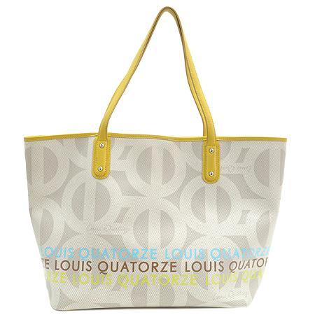 Louis_Quatorze(루이까또즈) 로고 PVC 쇼퍼 숄더백 + 보조 파우치 이미지2 - 고이비토 중고명품