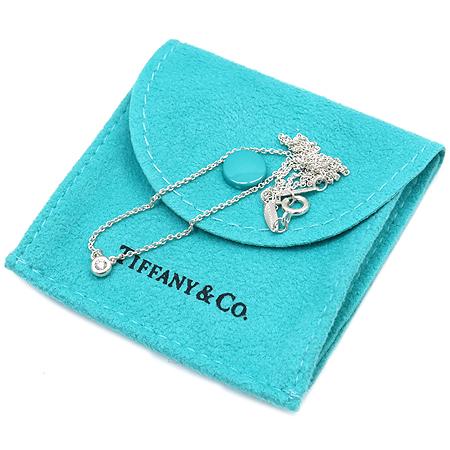 Tiffany(티파니) 925(실버) 1포인트 다이아 목걸이
