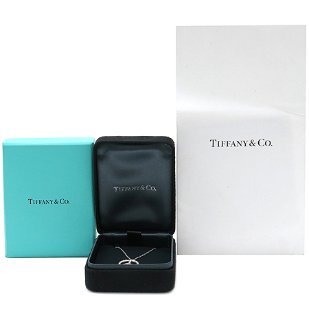 Tiffany(티파니) PT950 (플레티늄) PEACE 다이아 팬던트 목걸이