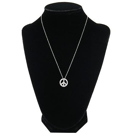 Tiffany(티파니) PT950 (플레티늄) PEACE 다이아 팬던트 목걸이 [강남본점] 이미지2 - 고이비토 중고명품