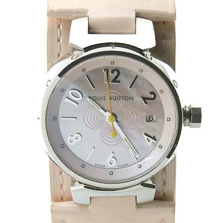 Louis Vuitton(루이비통) Q12160 땅부르 자개판 베르니 밴드 여성용 시계 [부산본점]