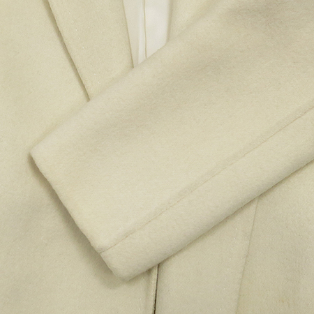 MOJOSPHINE(모조스핀) 아이보리컬러 반코트 (허리끈set)