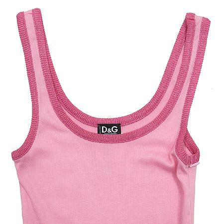 D&G(돌체&가바나) 핑크컬러 나시 원피스 이미지2 - 고이비토 중고명품