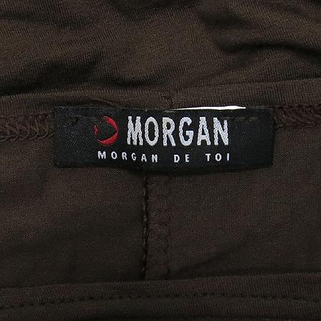 MORGAN(모르간) 브라운컬러 티