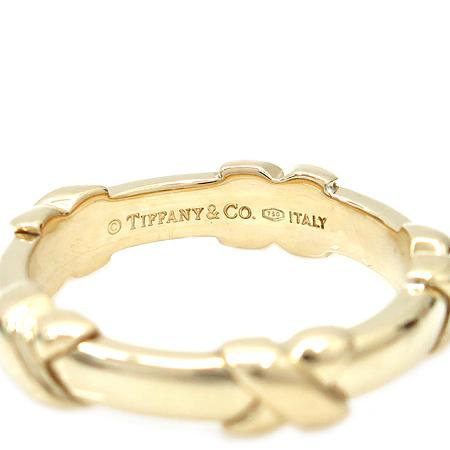 Tiffany(티파니) 18K 옐로우 골드 파로마 피카소 반지-16호