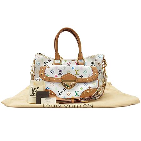 Louis Vuitton(루이비통) M40125 모노그램 멀티 화이트 리타 2WAY