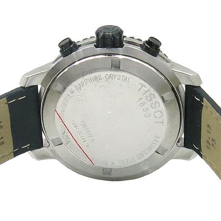 TISSOT(티쏘) T067.417 PRS200 크로노그래프 가죽 밴드 남성용 시계 이미지5 - 고이비토 중고명품