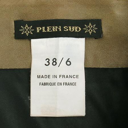 PLEIN SUD(플랭 수드) 레더 코르셋 스커트 (made in france)
