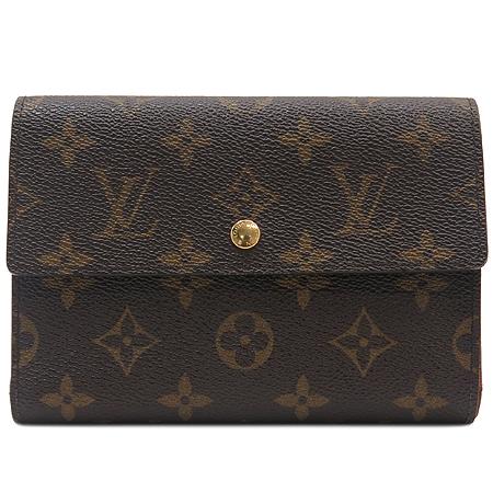 Louis Vuitton(루이비통) M61202 모노그램 캔버스 오거나이저 3단 중지갑