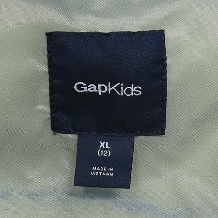 GAP(갭) KIDS 블루컬러 오리털 패딩 점퍼 (충전제:오리솜털90,깃털10)