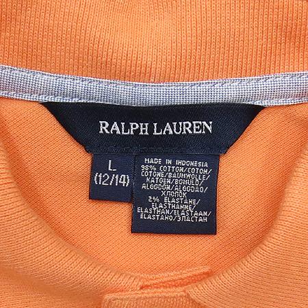 Polo Ralphlauren(폴로) 아동용 오렌지컬러 반팔 원피스