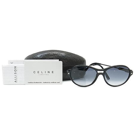 Celine(셀린느) SC1698G 측면 로고 블랙 뿔테 선글라스