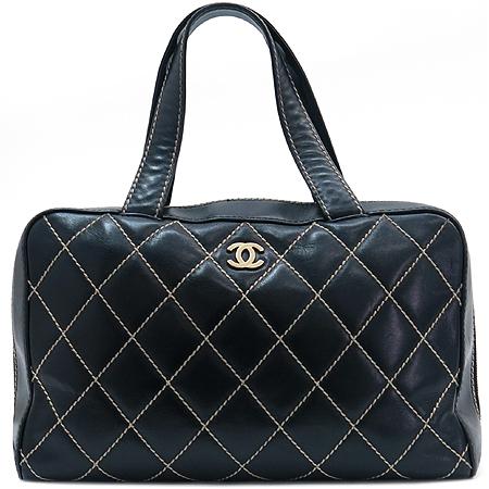 Chanel(샤넬) 금장 COCO 로고 와일드 스티치 토트백 이미지2 - 고이비토 중고명품