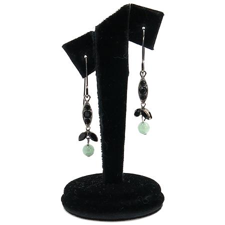 Dior(크리스챤디올) 플라워 장식 귀걸이