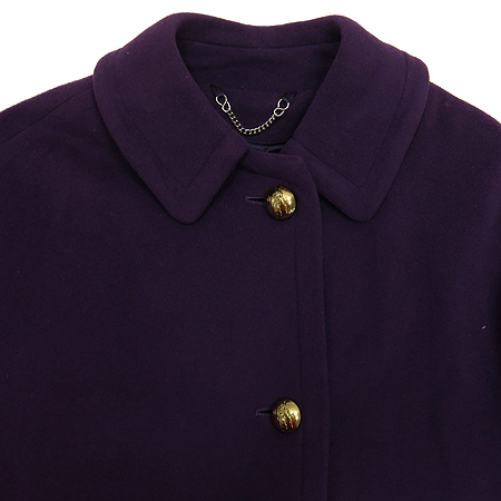 Burberry(버버리) 퍼플컬러 캐시미어혼방 코트