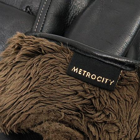 Metrocity(메트로시티) 블랙레더 장갑