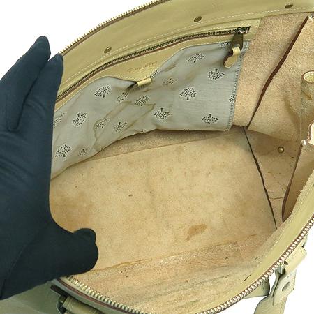 MULBERRY(멀버리) 원포켓 벨트 장식 베이지 레더 숄더백 [강남본점] 이미지6 - 고이비토 중고명품