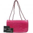 Chanel(샤넬) 핫 핑크 페이던트 CC 로고 스티치 은장 체인 클러치 숄더백  [대구동성로점]