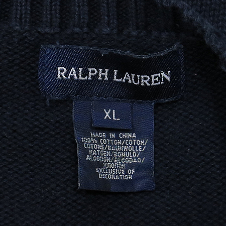 Polo Ralphlauren(폴로) 아동용 네이비컬러 라운드넥 니트