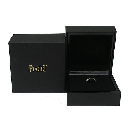 PIAGET(피아제) G34PL24P 18K(750) 화이트 골드 7 포인트 다이아 포제션 와이드 반지-8호