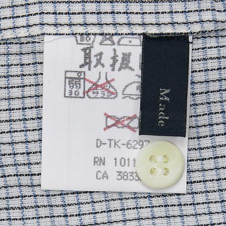 Zegna(제냐) 블루컬러 체크 셔츠 [부산센텀본점]