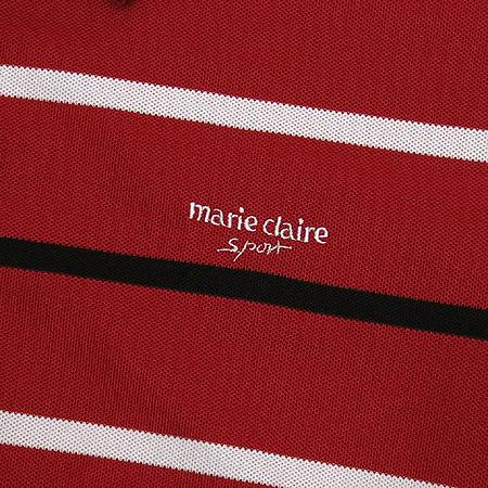 Marie Claire(마리글레르) 레드컬러 스트라이프 티