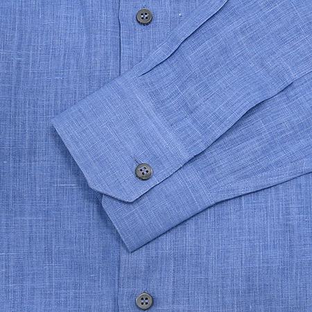 Zegna(제냐) 블루컬러 마혼방 셔츠