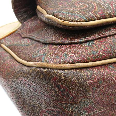 Etro(에트로) 05759 앞포켓 페이즐리 PVC 레더 숄더백