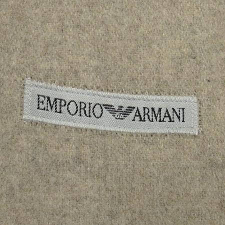 Emporio Armani(엠포리오 아르마니) 아이보리컬러 집업 코트