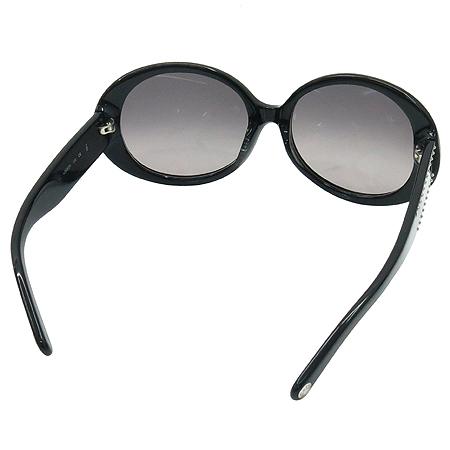 Calvin Klein(캘빈클라인) 4068SK 블랙 뿔테 은장로고 장식 선글라스