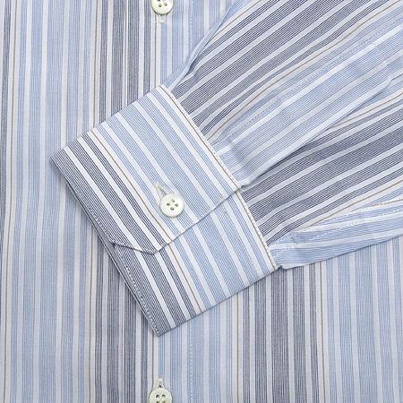 Zegna(제냐) 블루컬러 스트라이프 셔츠 이미지4 - 고이비토 중고명품