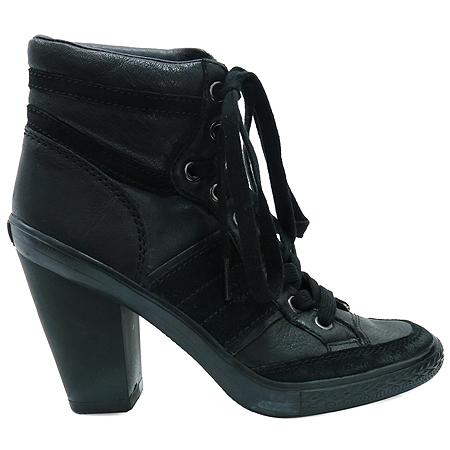 Ash(아쉬) VIRGIN(버진) 블랙 레더 여성용 구두