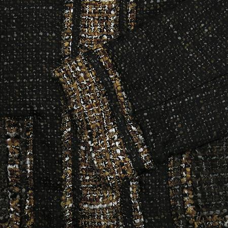 D&G(돌체&가바나) 배색 실크혼방 트위드 자켓
