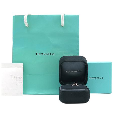 Tiffany(티파니) PT950(플래티늄) 0.16캐럿 다이아 웨딩 반지 - 6호 [강남본점]