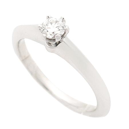 Tiffany(티파니) PT950(플래티늄) 0.16캐럿 다이아 웨딩 반지 - 6호 [강남본점] 이미지3 - 고이비토 중고명품