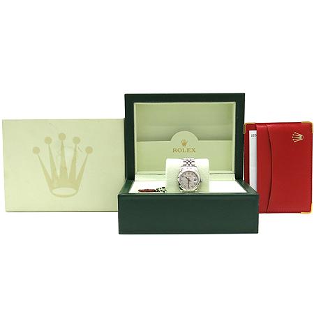 Rolex(로렉스) 179174 10포인트 다이아 컴퓨터판 스틸 DATE JUST(데이트 저스트) 여성용 시계