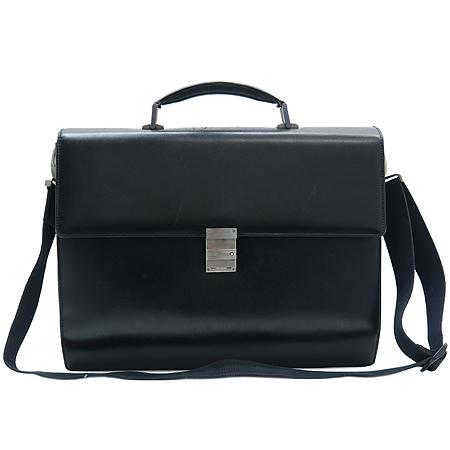Montblanc(몽블랑) MP35792 블랙 레더 남성용 서류 가방 + 숄더 스트랩 [동대문점]