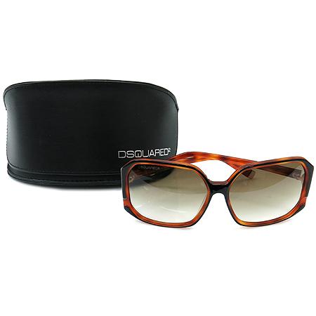 DSQUARED2 (디스퀘어드2) DQ0052 블랙 브라운 뿔테 선글라스 [대구반월당본점]