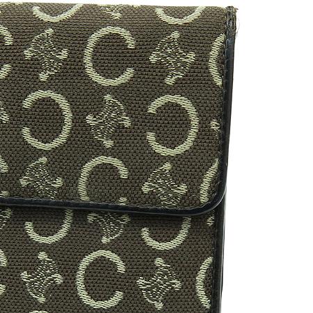 Celine(셀린느) 로고 장식 패브릭 반지갑