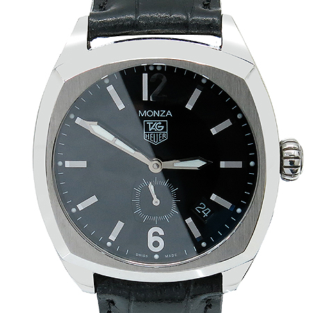 Tag Heuer(태그호이어) WR2110 Monza(몬자) 오토매틱 가죽 밴드 남성용 시계 [명동매장]