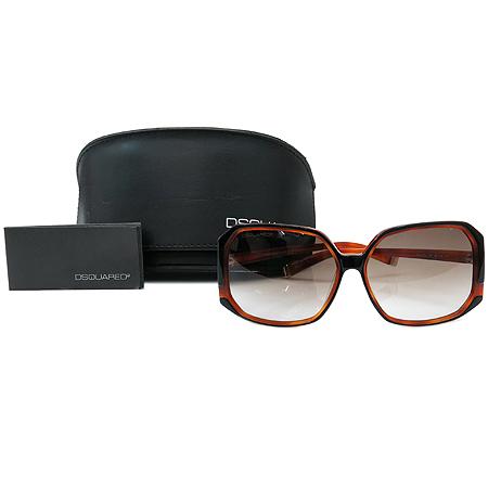 DSQUARED2 (디스퀘어드2) DQ0052 블랙 브라운 뿔테 선글라스