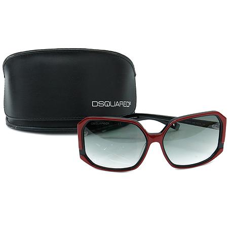 DSQUARED2 (디스퀘어드2) DQ0052 레드 블랙 뿔테 선글라스