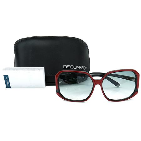 DSQUARED2 (디스퀘어드2) DQ0052 레드 블랙 뿔테 선글라스 [인천점]