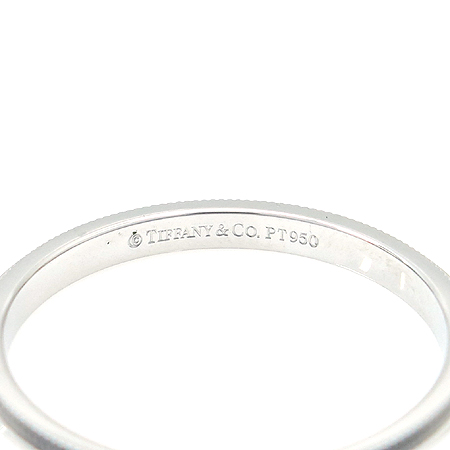 Tiffany(티파니) PT950 (플래티늄) 밀그레인 2MM 반지-20호
