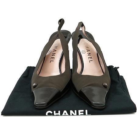 Chanel(샤넬) COCO로고 장식 펌프스 여성용 샌들 [인천점]