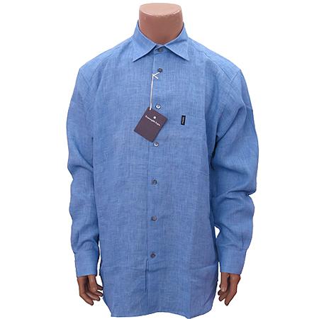 Zegna(제냐) 블루컬러 마혼방 셔츠 [부산센텀본점]